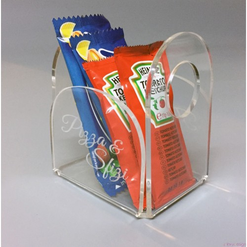 Porta bustine condimenti