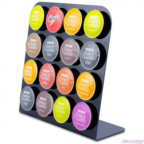 porta capsule nescaf dolce gusto plexy design. Black Bedroom Furniture Sets. Home Design Ideas