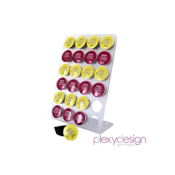 Porta capsule nescaf dolce gusto plexy design - Porta cialde nescafe dolce gusto ...
