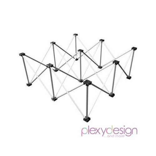 Piede Reticolare per Pedane in Plexiglass 1x1
