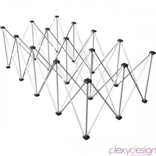Piede Reticolare per Pedane in Plexiglass 2x1