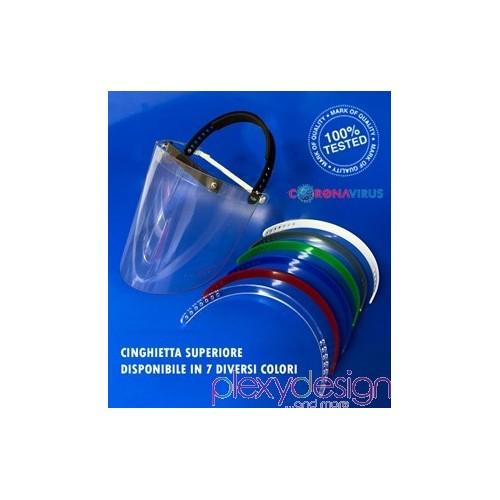 Visiera protettiva in policarbonato